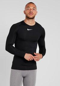 Nike Performance - PRO COMPRESSION - Maglietta intima - black/white - 0