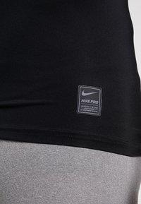 Nike Performance - PRO COMPRESSION - Maglietta intima - black/white - 5