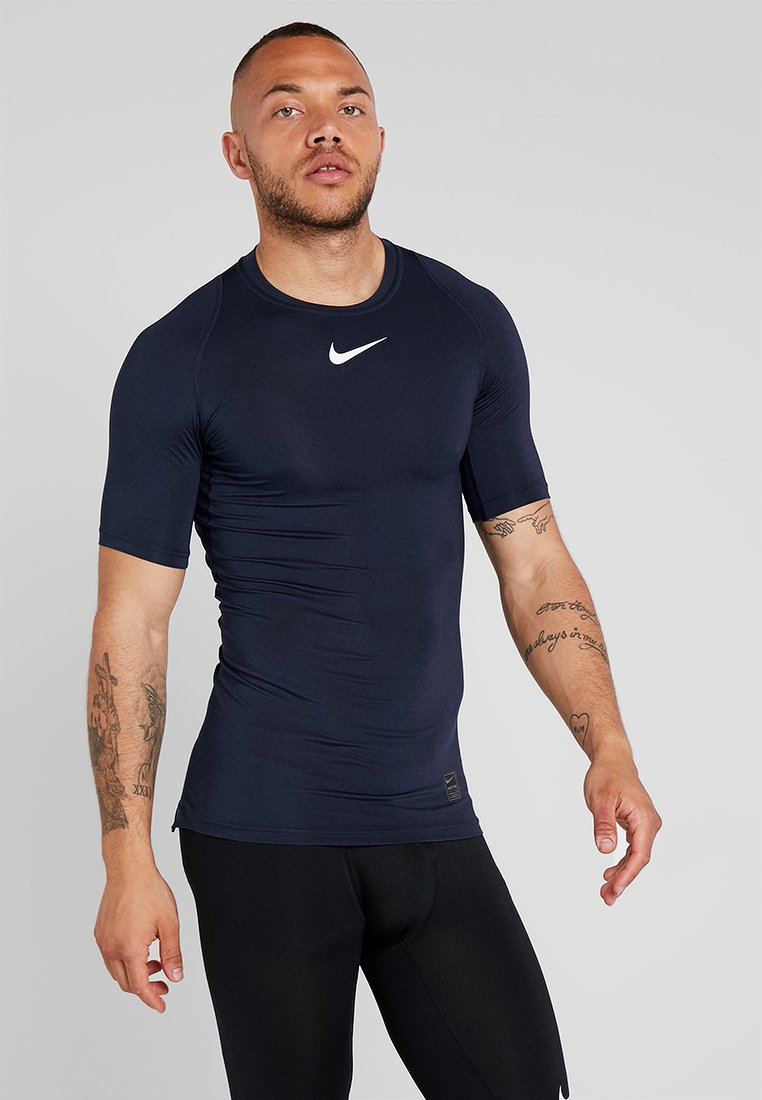 Nike Performance - PRO COMPRESSION - Undershirt - obsidian/white