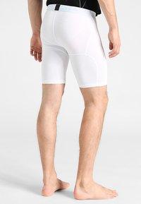 Nike Performance - PRO SHORT - Panties - white/pure platinum/black - 2