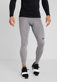 Nike Performance - PRO TIGHT - Langunderbukse - carbon heather/dark grey/black - 0