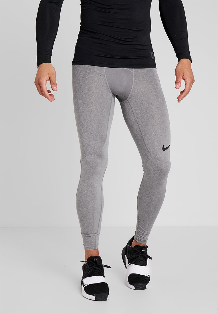 Nike Performance - PRO TIGHT - Langunderbukse - carbon heather/dark grey/black