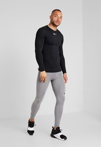 Nike Performance - PRO TIGHT - Langunderbukse - carbon heather/dark grey/black - 1