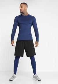 Nike Performance - T-shirt sportiva - blue void/black - 1