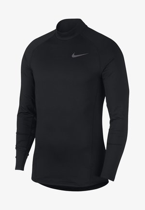 THRMA MOCK - Koszulka sportowa - black