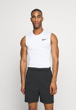 M NP TOP SL TIGHT - Camiseta de deporte - white