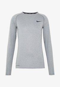 Nike Performance - Tekninen urheilupaita - smoke grey/light smoke grey/black - 4