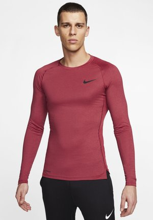 Sportshirt - night maroon/red/black