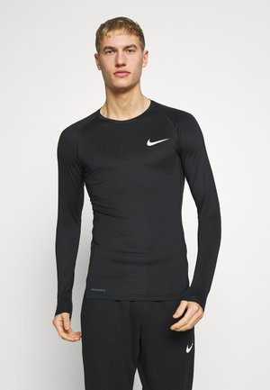TIGHT - T-shirt sportiva - black