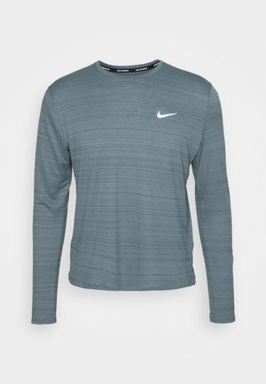 MILER - Sports shirt - ozone blue/silver