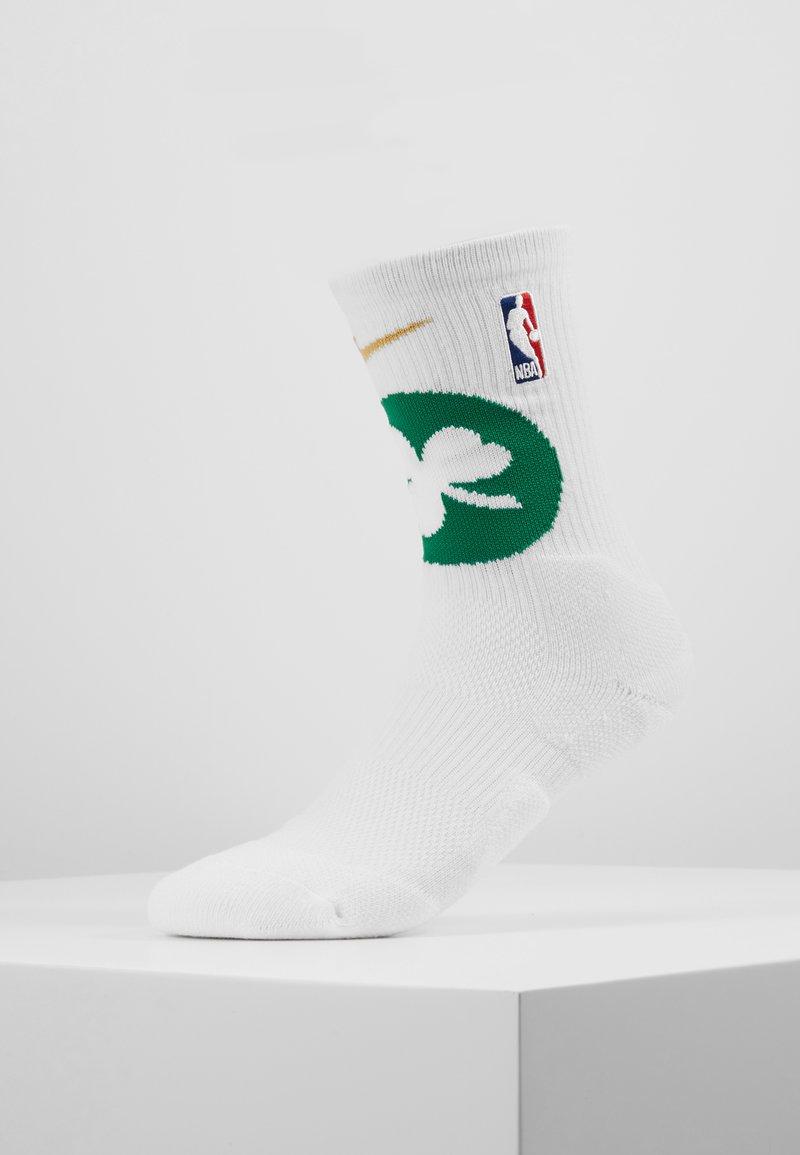Nike Performance - NBA BOSTON CELTICS ELITE - Träningssockor - white/clover