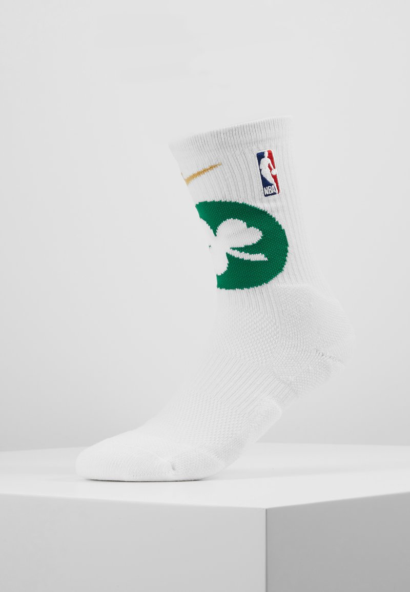 Nike Performance - NBA BOSTON CELTICS ELITE - Sports socks - white/clover