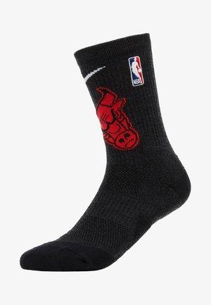 NBA CHICAGO BULLS ELITE - Sports socks - black/university red/white