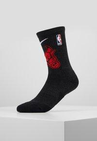 Nike Performance - NBA CHICAGO BULLS ELITE - Skarpety sportowe - black/university red/white - 0