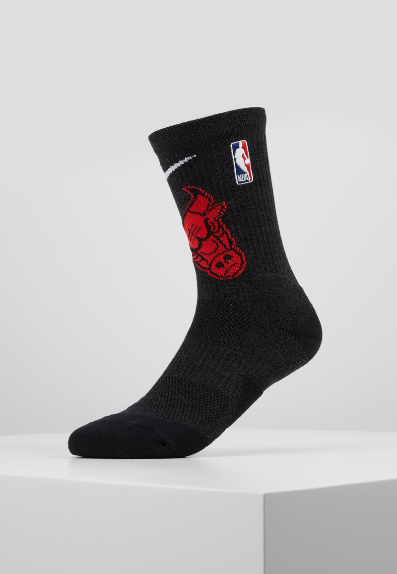 Nike Performance - NBA CHICAGO BULLS ELITE - Skarpety sportowe - black/university red/white