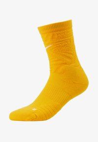 Nike Performance - NBA LOS ANGELES LAKERS CITY EDITION CREW SOCK - Skarpety sportowe - amarillo - 1