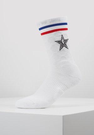 ELITE CREW NBA ALL STAR - Skarpety sportowe - white/black
