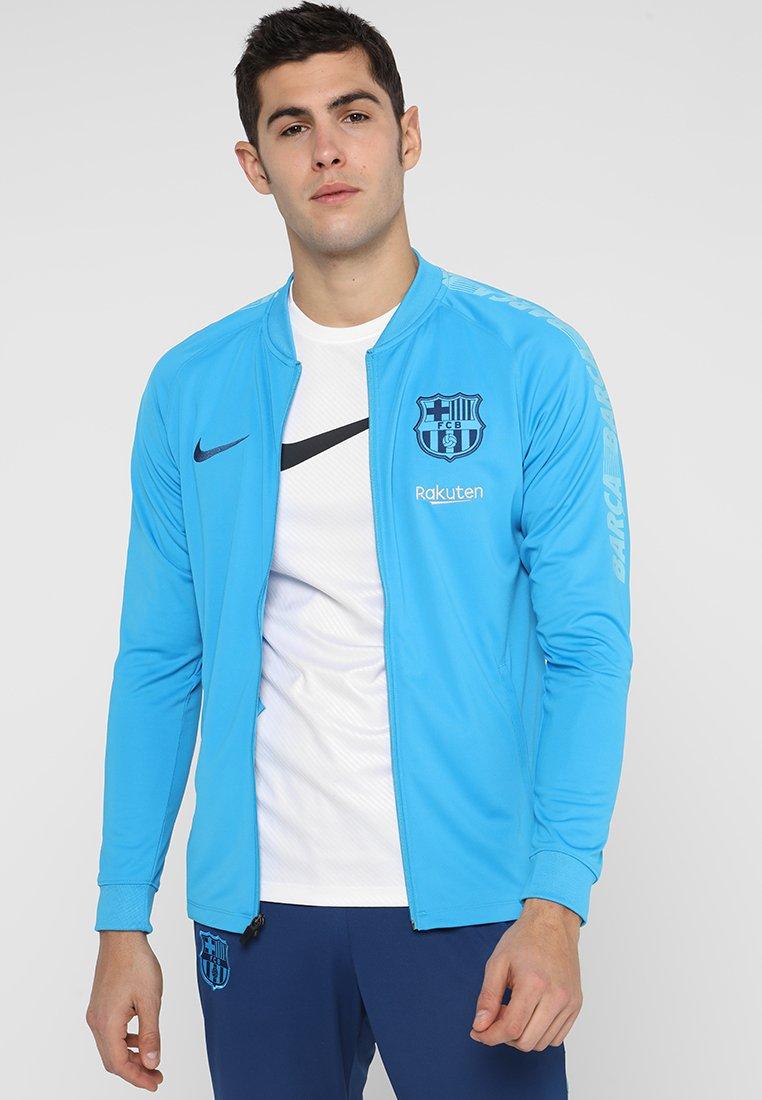 Nike Performance - FC BARCELONA DRY SUIT  - Klubtrøjer - equator blue/vivid sky/coastal blue