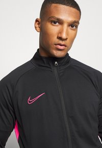 Nike Performance - DRY ACADEMY SUIT - Tracksuit - black/hyper pink - 5