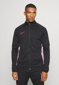 Nike Performance - DRY ACADEMY SUIT - Tracksuit - black/hyper pink - 0