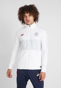 Nike Performance - PARIS ST GERMAIN DRY SUIT - Klubbkläder - white/midnight navy/pure platinum/university red - 0