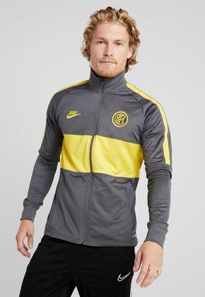 INTER MAILAND DRY SUIT  - Sportovní bunda - dark grey/tour yellow
