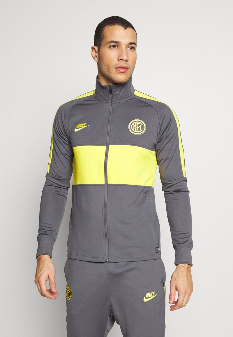 Nike Performance - INTER MAILAND DRY SUIT SET - Article de supporter - dark grey/tour yellow