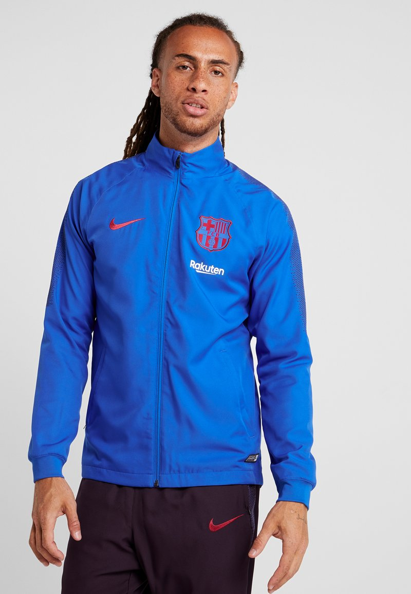 Nike Performance - FC BARCELONA DRY SUIT SET - Trainingspak - lyon blue/burgundy ash/deep royal blue/noble red
