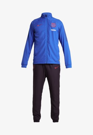 FC BARCELONA DRY SUIT SET - Dres - lyon blue/burgundy ash/deep royal blue/noble red