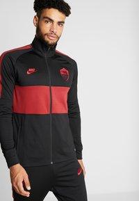 Nike Performance - AS ROM DRY SUIT - Klubbkläder - black/team crimson - 0