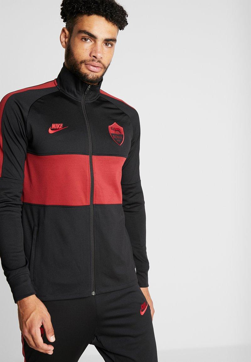 Nike Performance - AS ROM DRY SUIT - Klubtrøjer - black/team crimson