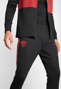 Nike Performance - AS ROM DRY SUIT - Klubbkläder - black/team crimson - 5