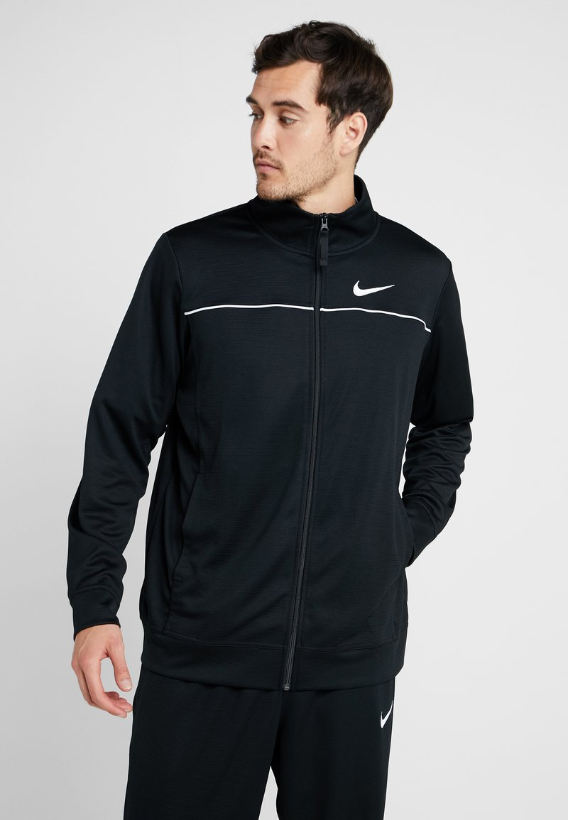 Nike Performance - RIVALRY TRACKSUIT - Träningsset - black/white