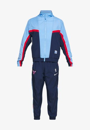 NBA CHICAGO BULLS CITY EDITION TRACKSUIT SET - Verryttelypuku - college navy/valor blue/university red