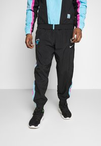 Nike Performance - NBA MIAMI HEAT CITY EDITION  - Dres - black/blue gale/laser fuchsia - 3