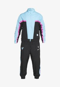 Nike Performance - NBA MIAMI HEAT CITY EDITION  - Dres - black/blue gale/laser fuchsia - 8