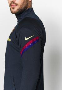 Nike Performance - FC BARCELONA DRY SUIT SET - Klubbkläder - dark obsidian/deep royal blue - 9