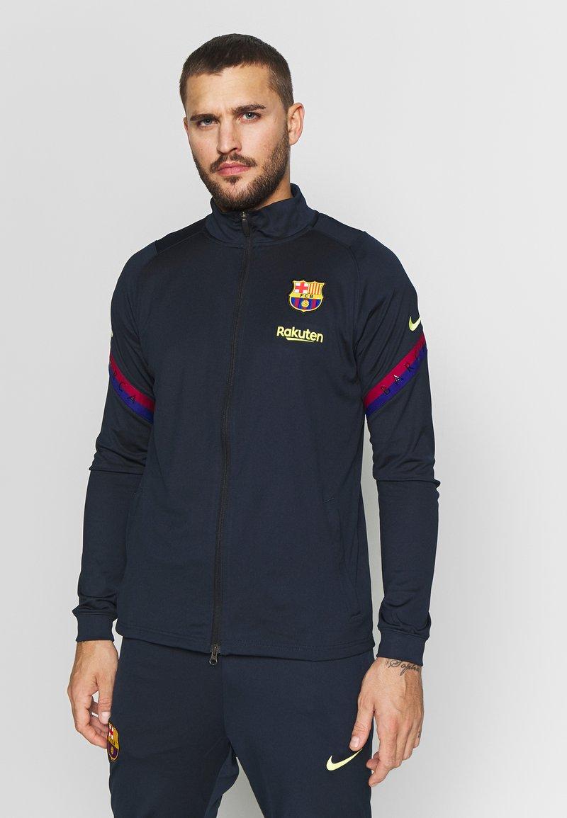 Nike Performance - FC BARCELONA DRY SUIT SET - Klubbkläder - dark obsidian/deep royal blue