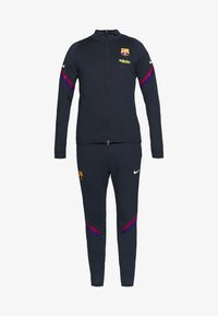 Nike Performance - FC BARCELONA DRY SUIT SET - Article de supporter - dark obsidian/deep royal blue