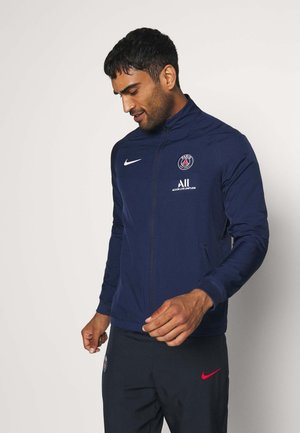 PARIS ST GERMAIN DRY SUIT - Klubbkläder - midnight navy/dark obsidian/white