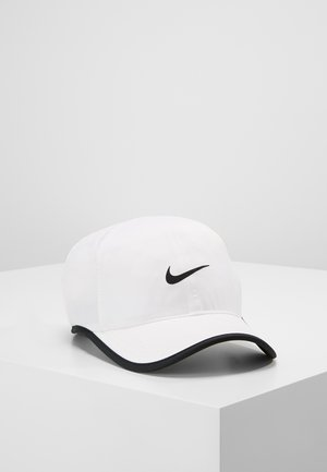 FEATHERLIGHT - Gorra - white/black