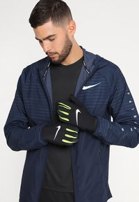 Nike Performance - LIGHTWEIGHT TECH GLOVES - Guantes - black/volt/silver - 0