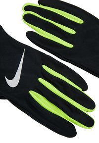 Nike Performance - LIGHTWEIGHT TECH GLOVES - Guantes - black/volt/silver - 5