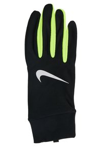 Nike Performance - LIGHTWEIGHT TECH GLOVES - Guantes - black/volt/silver - 4