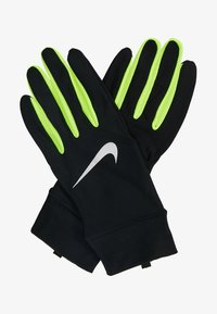 Nike Performance - LIGHTWEIGHT TECH GLOVES - Guantes - black/volt/silver - 2