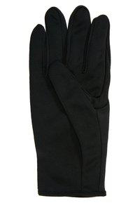 Nike Performance - MEN'S RUN DRY SET - Fingervantar - black/black/silver - 6