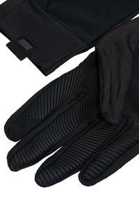 Nike Performance - PRO WARM MENS LINEAR GLOVES - Fingervantar - black/dark grey - 4
