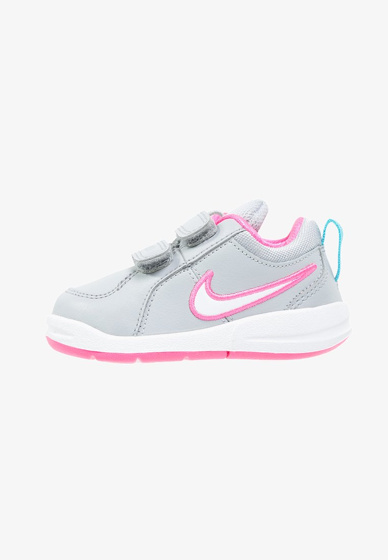 Nike Performance - PICO - Sports shoes - wolf grey/white/pink