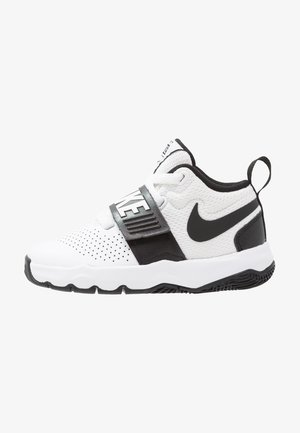 TEAM HUSTLE D 8  - Basketball shoes - white/black