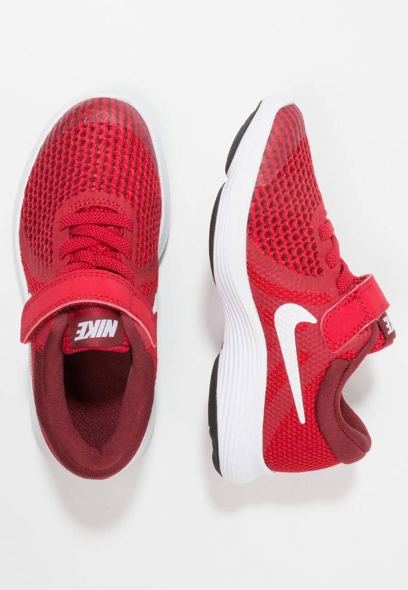 Nike Performance - REVOLUTION 4 - Neutrala löparskor - gym red/white/team red/black